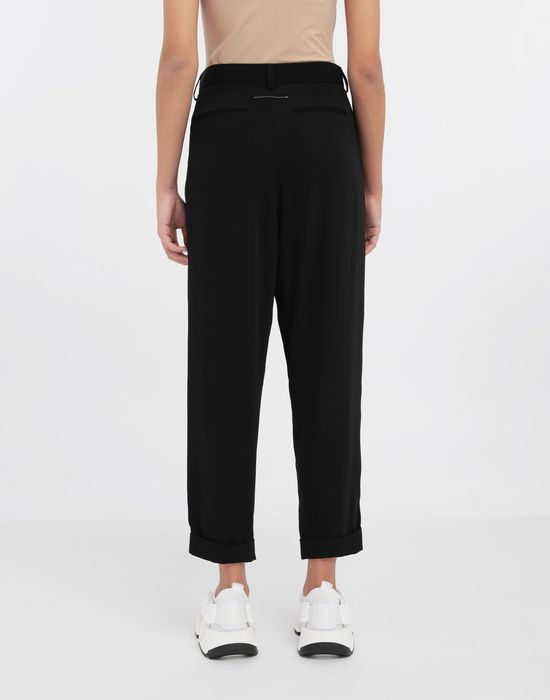 MM6 MAISON MARGIELA Wide-leg tapered pants Trousers [*** pickupInStoreShipping_info ***] e