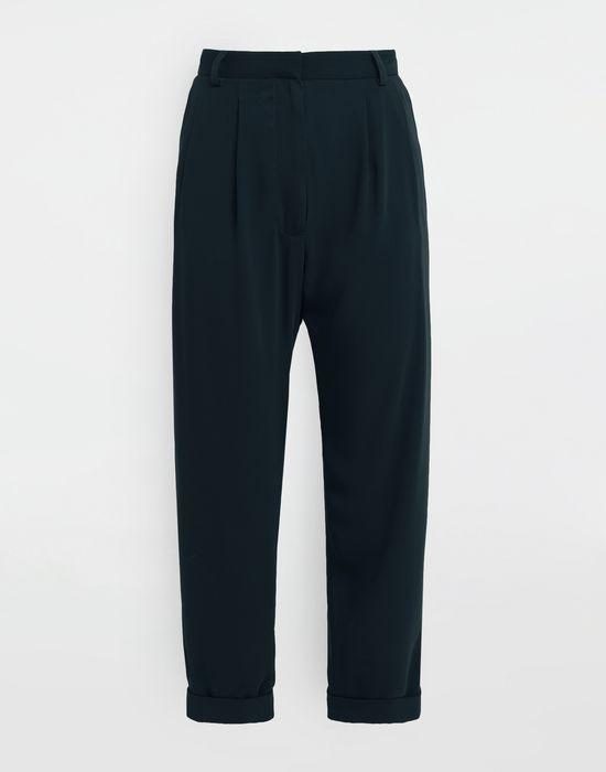 MM6 MAISON MARGIELA Wide-leg tapered pants Trousers [*** pickupInStoreShipping_info ***] f