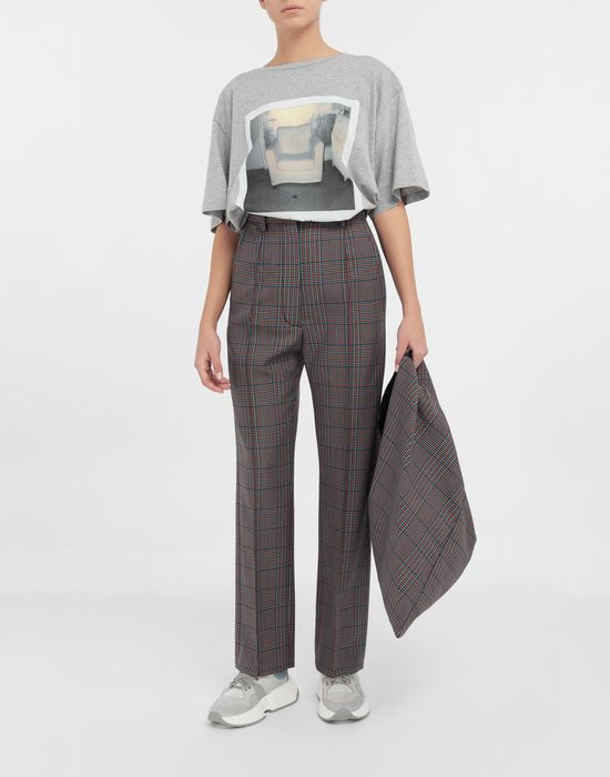 MM6 MAISON MARGIELA Checked straight-leg pants Casual pants [*** pickupInStoreShipping_info ***] d