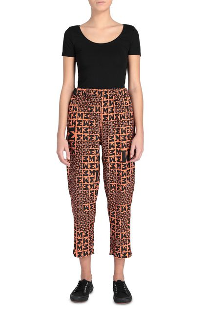 M MISSONI Pants Rust Woman - Back