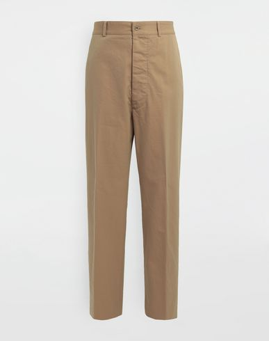 MAISON MARGIELA Casual pants [*** pickupInStoreShippingNotGuaranteed_info ***] Décortiqué pocket wide-leg trousers f