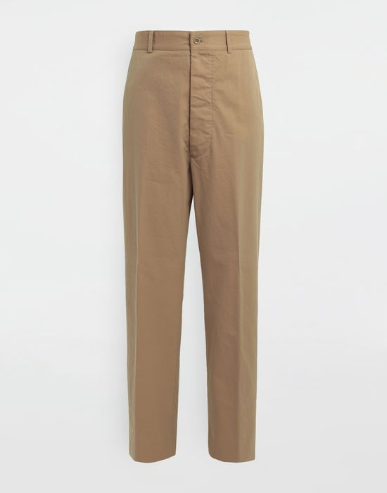 MAISON MARGIELA Décortiqué pocket wide-leg trousers Trousers [*** pickupInStoreShippingNotGuaranteed_info ***] f