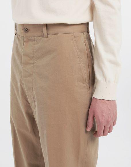 MAISON MARGIELA Décortiqué pocket wide-leg trousers Casual pants Man a