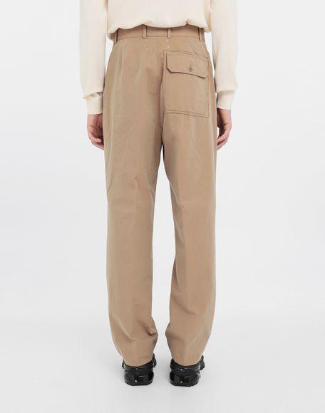 MAISON MARGIELA Décortiqué pocket wide-leg trousers Casual pants Man e