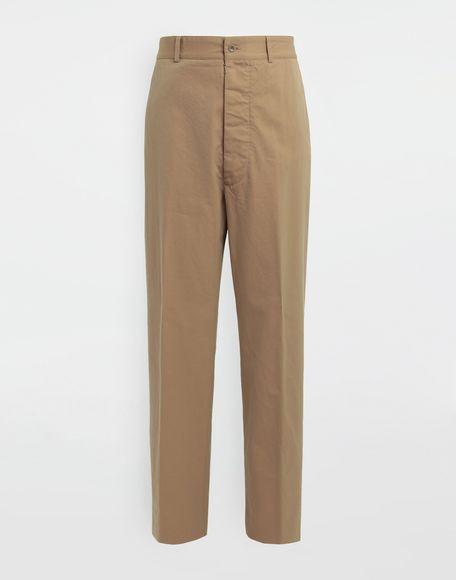 MAISON MARGIELA Décortiqué pocket wide-leg trousers Casual pants Man f