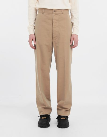 MAISON MARGIELA Décortiqué pocket wide-leg trousers Casual pants Man r