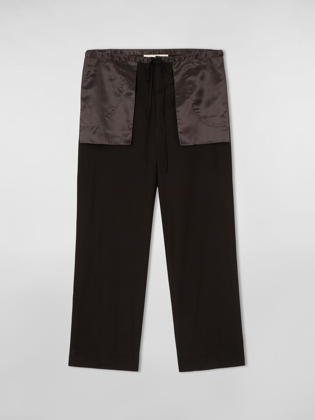 Marni Patch-pocket pants in cotton Woman - 2