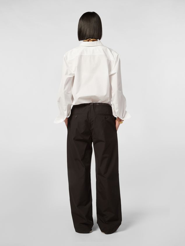 Marni Patch-pocket pants in cotton Woman - 3