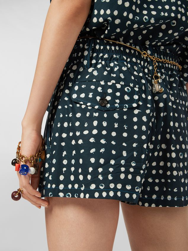 Marni Cotton shorts with Cerere print Woman - 4