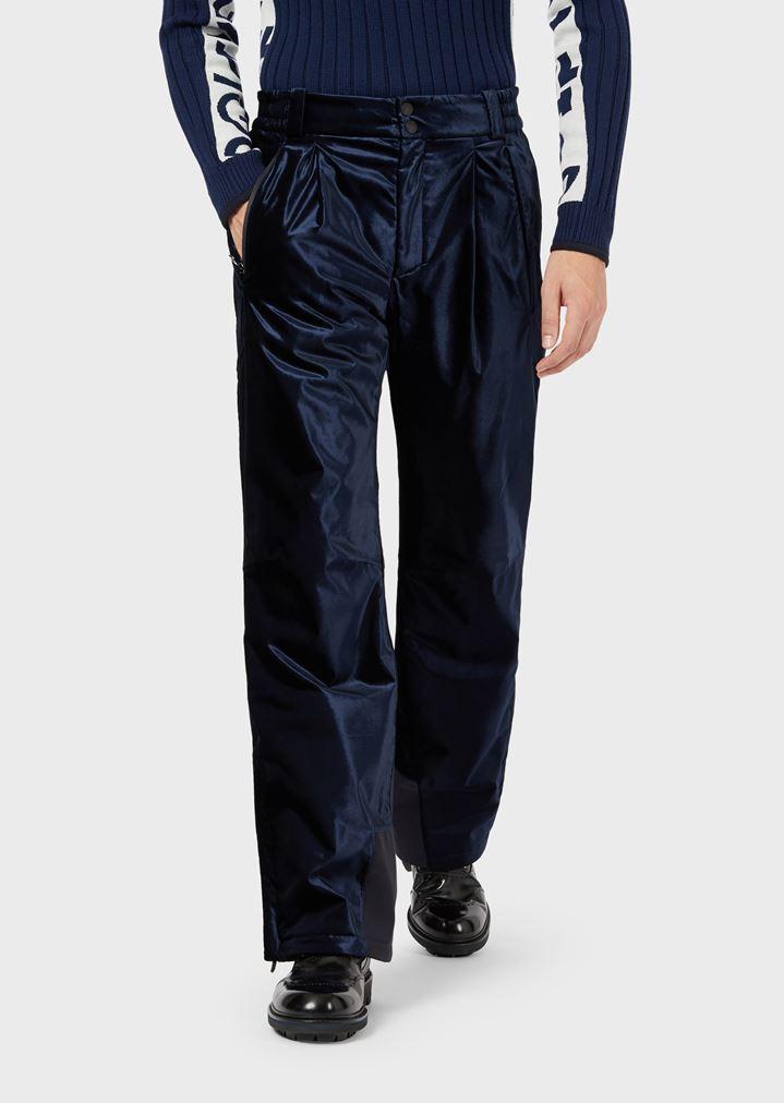 best sneakers 9fb3a 84193 Pantaloni tecnici da sci in velluto impermeabile