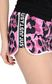 JUST CAVALLI Jersey shorts with a panther print Shorts Woman e