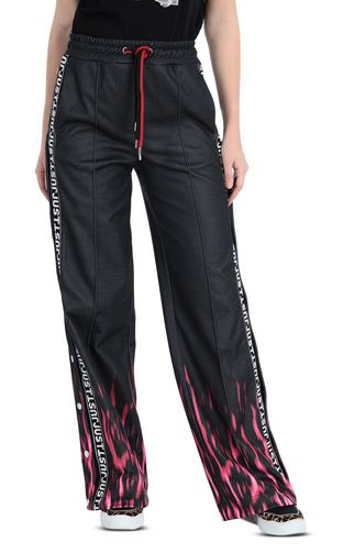 JUST CAVALLI Casual pants [*** pickupInStoreShipping_info ***] Crocodile-print trousers f