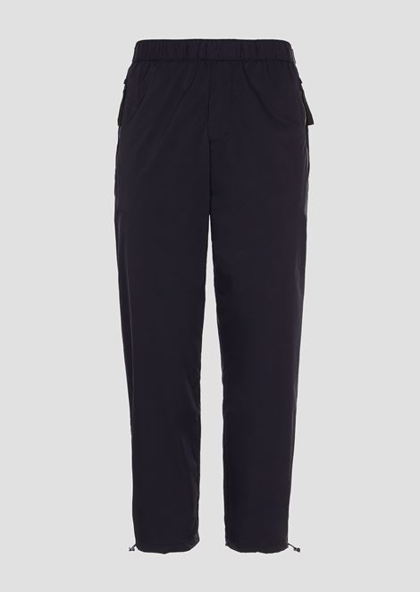R-EA-MIX jogging trousers with reflective inserts and logo