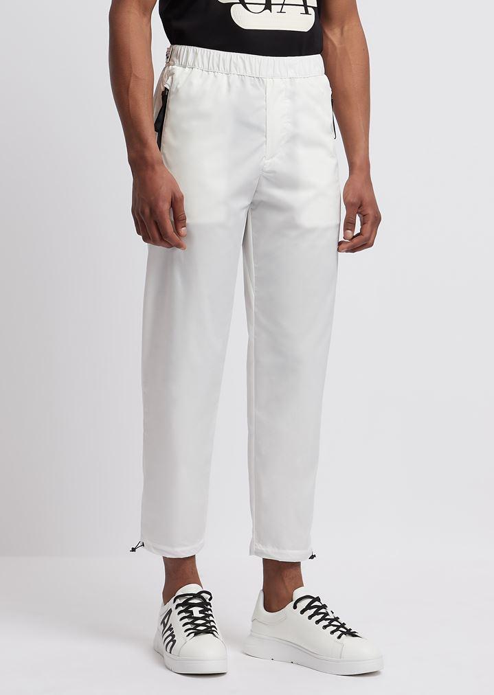 e02339644 Pantalones tipo chándal R-EA-MIX con logotipo y aplicaciones reflectantes