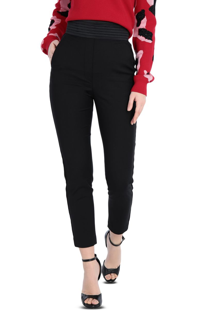 JUST CAVALLI Elegant black trousers Casual pants [*** pickupInStoreShipping_info ***] f