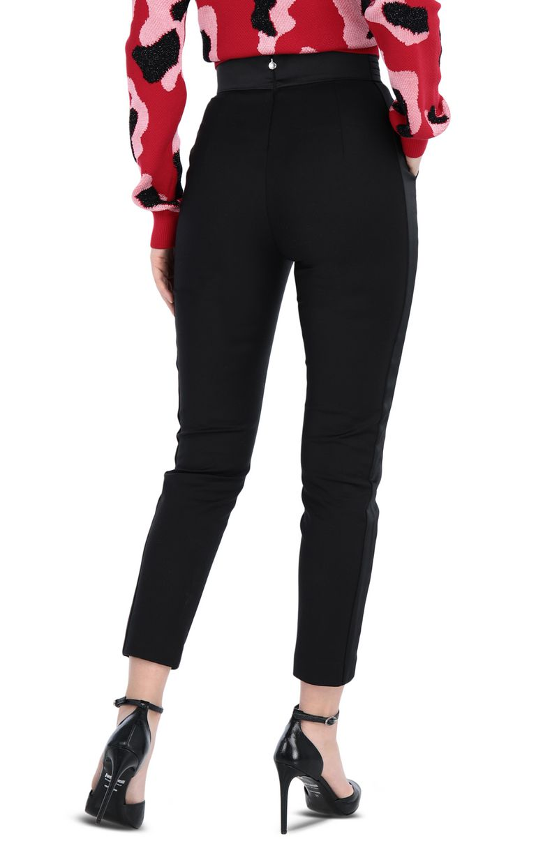 JUST CAVALLI Elegant black trousers Casual pants [*** pickupInStoreShipping_info ***] r
