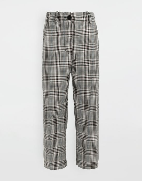 MM6 MAISON MARGIELA Checked wool-blend pants Casual pants [*** pickupInStoreShipping_info ***] f
