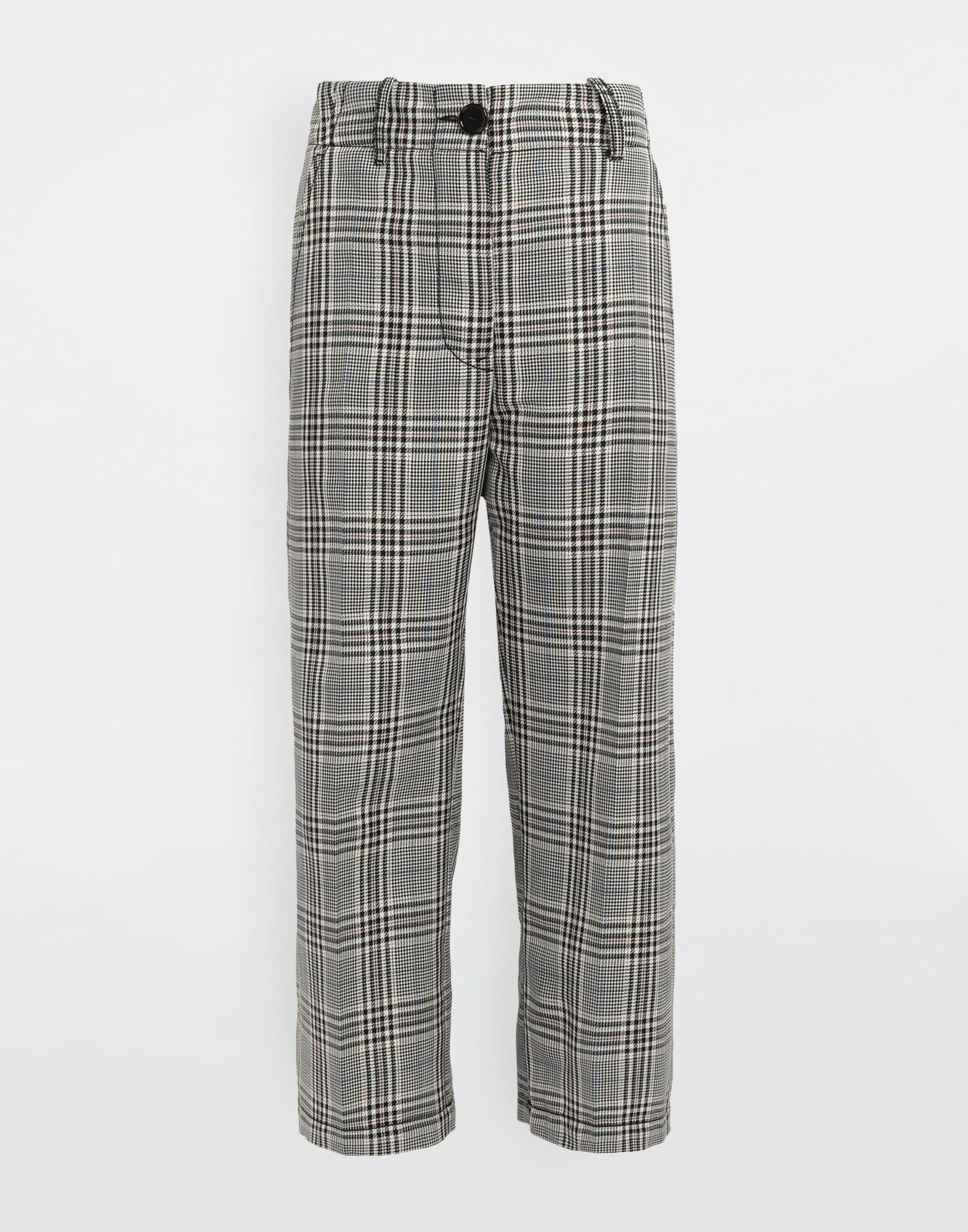MM6 MAISON MARGIELA Checked wool-blend pants Casual pants Woman f