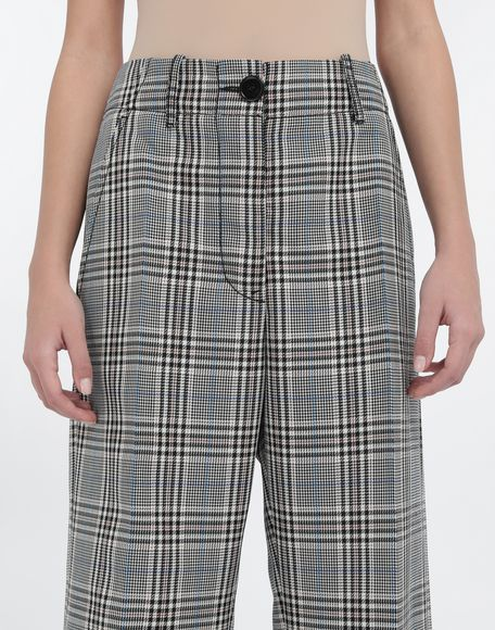 MM6 MAISON MARGIELA Checked wool-blend pants Trousers Woman a