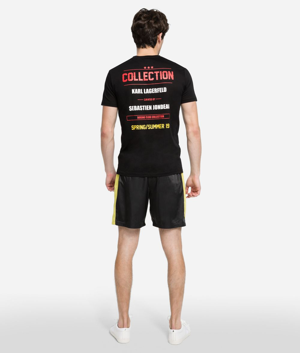 KARL LAGERFELD Boxing Shorts Shorts Man d