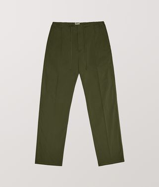TROUSERS IN TECHNO COTTON