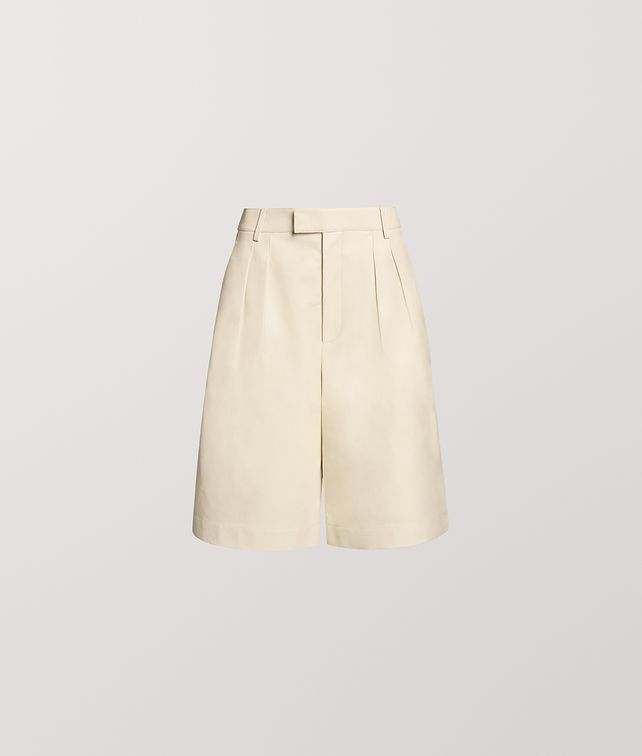 BOTTEGA VENETA SHORT IN CALF LEATHER Trousers and Shorts [*** pickupInStoreShipping_info ***] fp