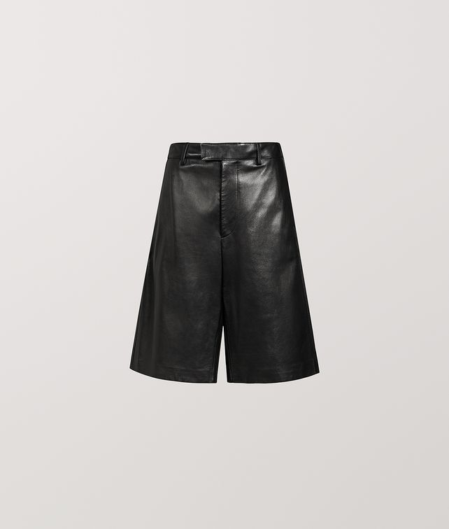 BOTTEGA VENETA SHORT IN NAPPA Pants and Shorts Woman fp