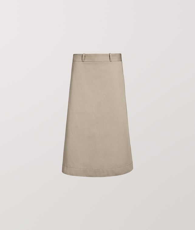 BOTTEGA VENETA SKIRT IN COTTON Skirt [*** pickupInStoreShipping_info ***] fp