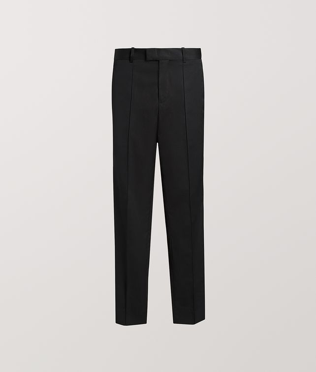 BOTTEGA VENETA TROUSERS IN COTTON Trousers and Shorts Woman fp