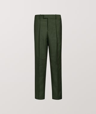 TROUSERS IN LIGHT MOHAIR WOOL