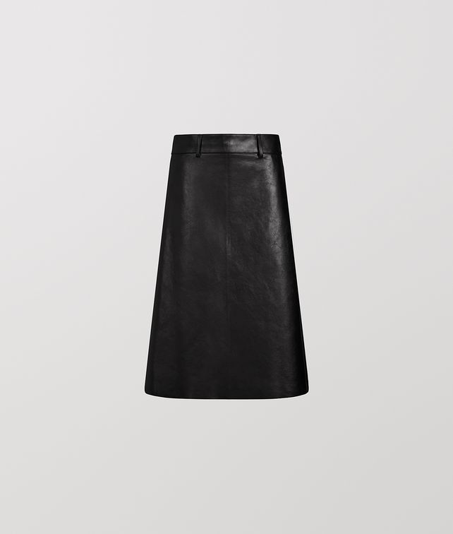 BOTTEGA VENETA SKIRT IN CALF LEATHER Skirt [*** pickupInStoreShipping_info ***] fp
