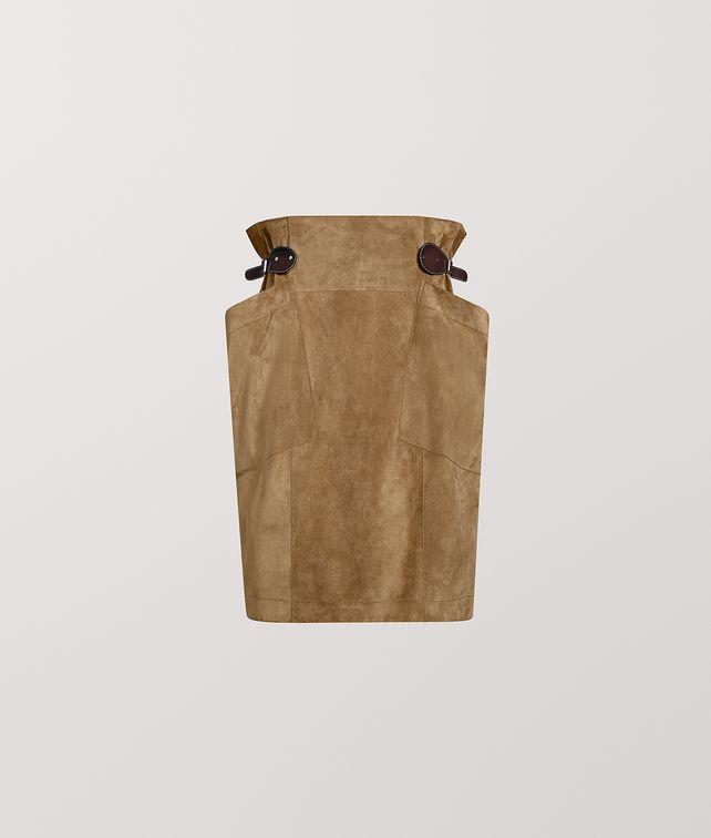 BOTTEGA VENETA SKIRT IN SUEDE Skirt [*** pickupInStoreShipping_info ***] fp