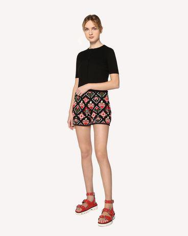 REDValentino RR0RF00BCSL 0AP Shorts Woman d