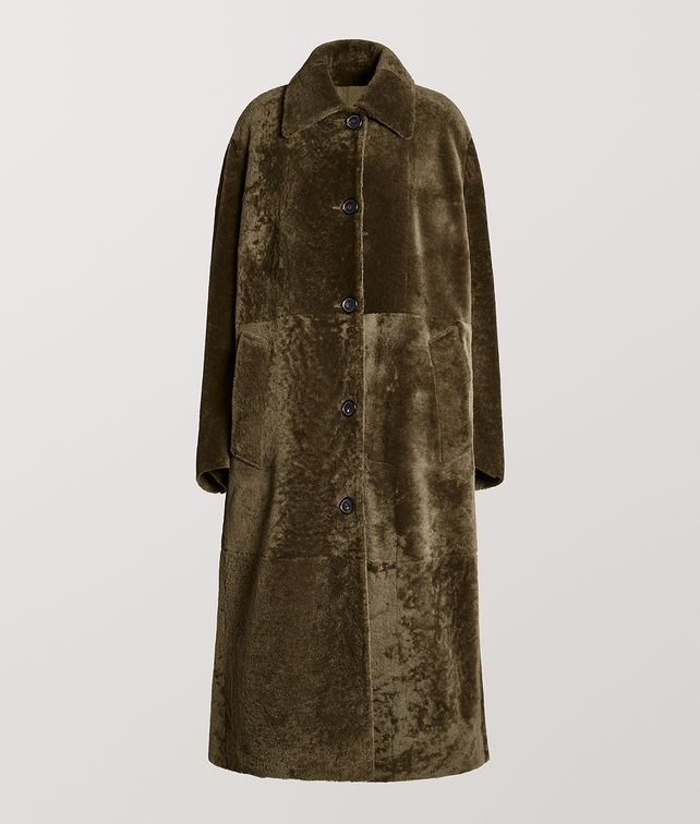BOTTEGA VENETA COAT IN SHEARLING Outerwear and Jacket [*** pickupInStoreShipping_info ***] fp