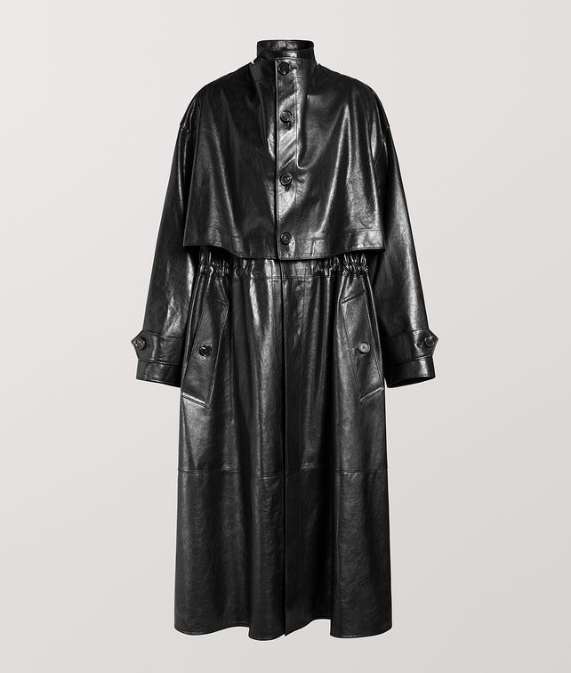 BOTTEGA VENETA TRENCH COAT IN CALF Outerwear and Jacket [*** pickupInStoreShipping_info ***] fp