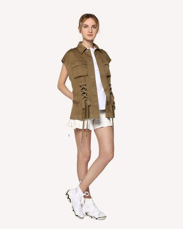 REDValentino RR0RFA470VL 031 Shorts Woman d