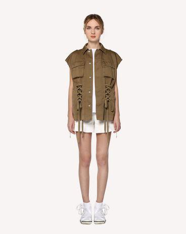 REDValentino RR0RFA470VL 031 Shorts Woman f
