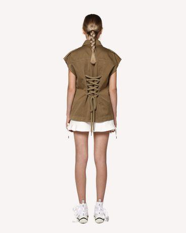 REDValentino RR0RFA470VL 031 Shorts Woman r
