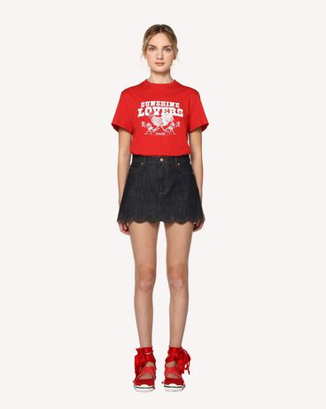 REDValentino RR0DD00SGHV 518 Mini skirt Woman f