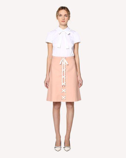 REDValentino Midi Skirt Woman RR0RAB100VL GS7 f