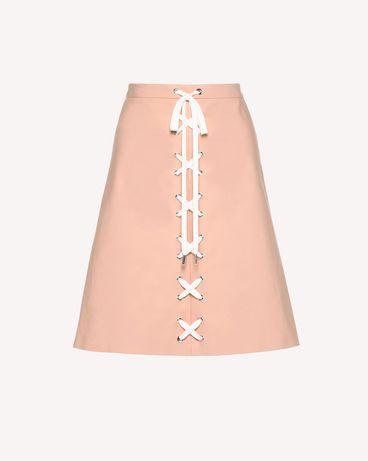 REDValentino RR0RAB100VL GS7 Midi Skirt Woman a