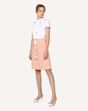 REDValentino RR0RAB100VL GS7 Midi skirt Woman d