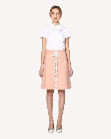 REDValentino RR0RAB100VL GS7 Midi skirt Woman f