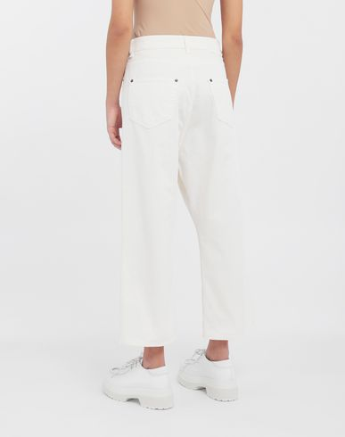 PANTS Classic cropped denim pants