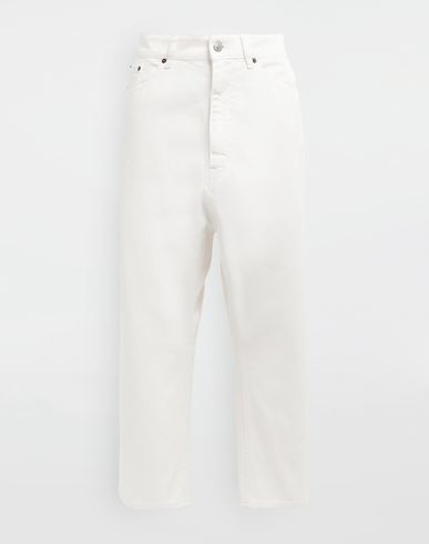 MM6 MAISON MARGIELA Pantalon [*** pickupInStoreShipping_info ***] Pantacourt en denim classique f