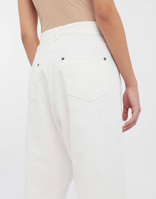 MM6 MAISON MARGIELA Classic cropped denim pants Trousers [*** pickupInStoreShipping_info ***] b