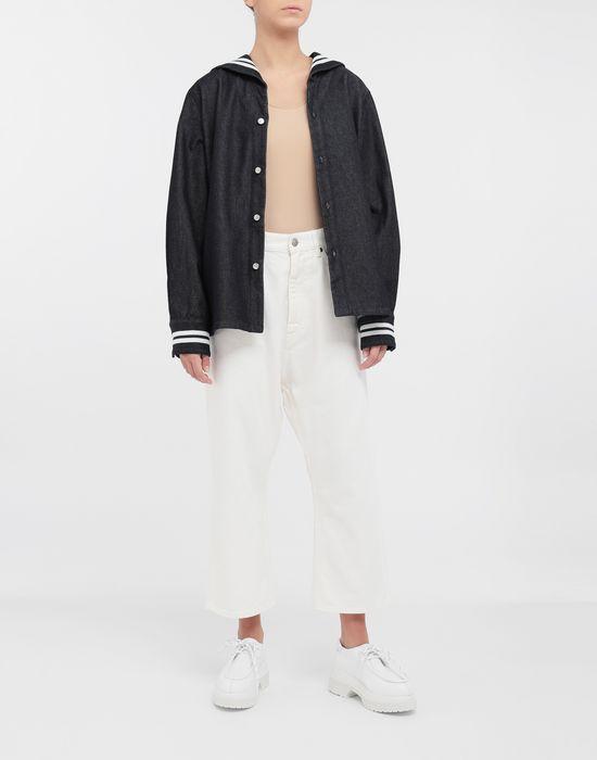 MM6 MAISON MARGIELA Classic cropped denim pants Trousers [*** pickupInStoreShipping_info ***] d