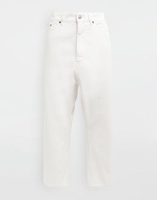 MM6 MAISON MARGIELA Classic cropped denim pants Trousers [*** pickupInStoreShipping_info ***] f