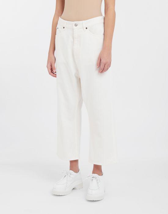 MM6 MAISON MARGIELA Classic cropped denim pants Trousers [*** pickupInStoreShipping_info ***] r