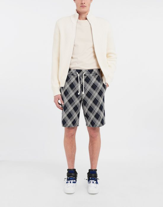 MAISON MARGIELA Checked jersey shorts Shorts [*** pickupInStoreShippingNotGuaranteed_info ***] d